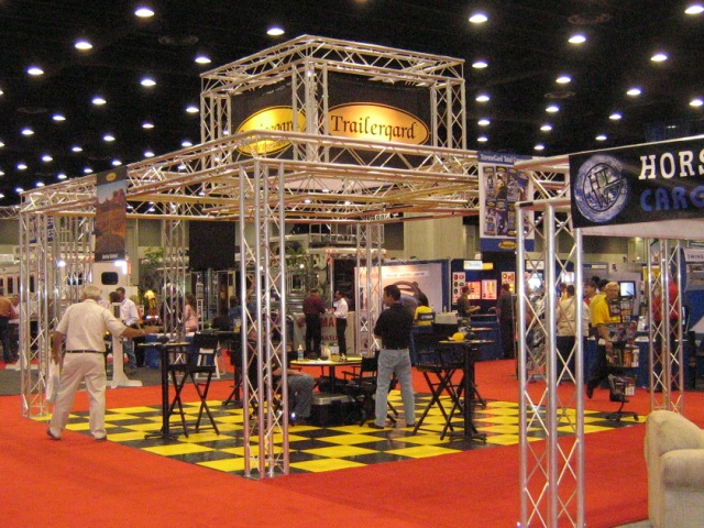 Trailergard booth at the NATDA Trade Show.