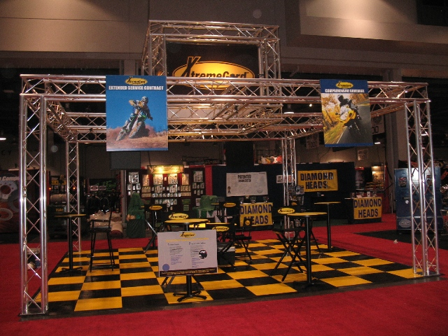 Our new booth was unveiled at the V-Twin Expo.